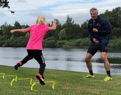 Henk Passies traint